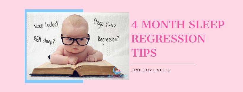 Baby 4 Month Sleep Regression Help