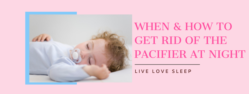 How to Get Rid of Pacifier at Night